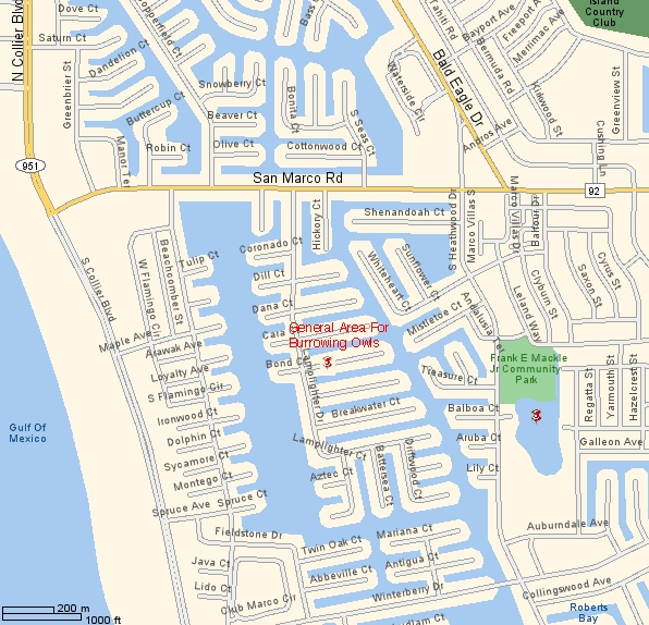 east naples florida map